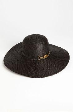 Rachel Zoe Woven Sun Hat, $125