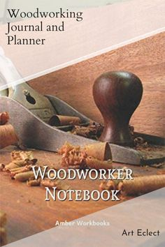 Plan your next woodworking project with the help of this note book, with a materials list and special pages for sketches to flesh out your ideas. Woodworking Journal, Woodworking Ideas, Project Planner, Graph Paper, The Help, Sketches, Notebook, How To Plan, Books