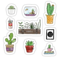Add some cute little features to your desk! • Also buy this artwork on stickers, apparel, phone cases, and more.