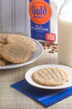 Maple-Walnut Butter Cookies from @Lauren Davison Davison Keating {Healthy. Delicious.}