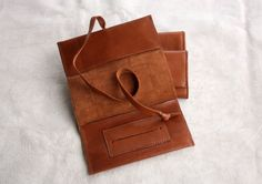 Easy Living II - Leather Tobacco Pouch. $20.00, via Etsy.