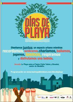 Días de Playa; para respirar. Crédito: Teatro Pablo Tobón Uribe