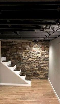 23 best painting basement walls images basement house little rh pinterest com