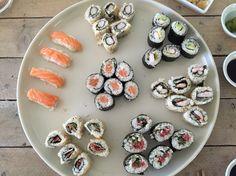 Inky's homemade sushi mmmm