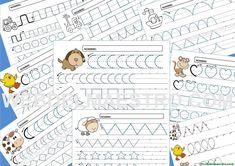 Fichas de grafomotricidad para imprimir - 4 y 5 años - Recursos educativos y material didáctico para niños/as de Infantil y Primaria. Descarga Fichas de grafomotricidad para imprimir - 4 y 5 años