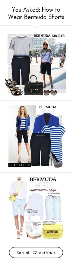 how to wear bermuda shorts to work