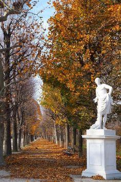 Belle Villa, Vienna Austria, Garden Sculpture, Outdoor Decor, Photography, Gardens, Travel, Vienna, Display