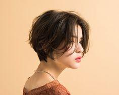 Short Hair Tomboy, Asian Short Hair, Girl Short Hair, Short Hair Cuts, Tomboy Hairstyles, Pretty Hairstyles, Cut My Hair, New Hair, Shot Hair Styles