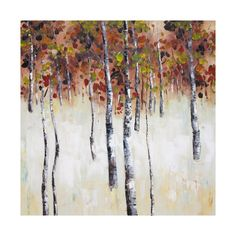 Picture Depot OP91424 Falling Leaves II Oil Painting | Lowe's Canada