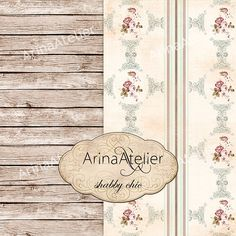 Website Background Options-Shabby Chic Digital Set of Papers Backdrops by arinaDigital
