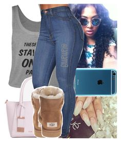 """❤️"" by lamamig ❤ liked on Polyvore featuring Ted Baker, UGG Australia, women's clothing, women, female, woman, misses and juniors"