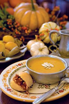 One of the first fruits of fall, the pumpkin is an emblem of the season's abundance both on the vine and in the kitchen.