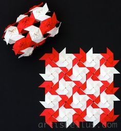 Origami Quilts - Double Windmill Module