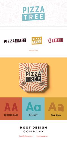 "We designed a brand that's as inventive as the pizza toppings at this business (who would've thought honey was a great dipping sauce for a slice?) Quirky illustrations and the integration of the ""Via"" pizza truck logo mean that this brand will be instantl Pizza Branding, Pizza Logo, Logo Pizzeria, Restaurant Branding, Hotel Branding, Pizza Restaurant, Packaging Design Inspiration, Logo Inspiration, Tutorials"