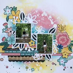 Paisley Days - Kaisercraft Happy Life, Layouts, Paisley, Scrapbooking, Day, How To Make, The Happy Life, Scrapbook, Scrapbooks