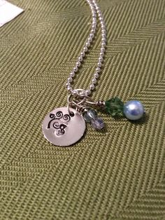 'Monogram Necklace' is going up for auction at 10am Mon, Oct 1 with a starting bid of $7.