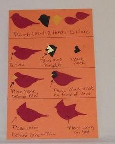 sunshinevickie <b>Stampin</b>' <b>Up</b>! Bird Punch Art Stasia Sloma at <b>Stampin</b> ...