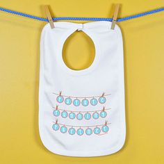 Baby Bib Future Running Partner Clothes Line - An adorable super soft cotton bib for your #1 Fan.