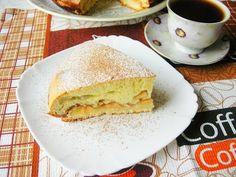 Яблочный пирог Осенью всем хочется тепла и уюта! Предлагаю создать уютную обстановку в доме путем приготовления вкусного и ароматного яблочного пирога к чашечке горячего чая!