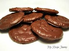 Ritz Thin Mint Cookies...copycat 'Thin Mint Girl Scout Cookies'