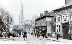 Lewisham High Street Lewisham South East London England in 1903 Victorian London, Vintage London, Old London, London History, Local History, Old Pictures, Old Photos, Forest Hill, London Places