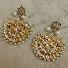 Priyanka Earrings by Indiatrend. Shop Now at WWW.INDIATRENDSHOP.COM