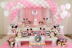 Victória Decor Personalizados: Minnie rosa