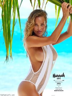 Hannah Davis flaunts her curves for 2016 Sports Illustrated Swimsuit issue. #sportsillustrated