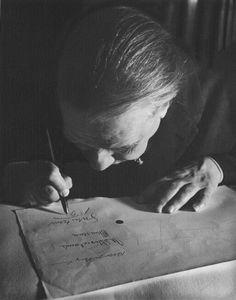 Alicia D'Amico, Jorge Luis Borges en 1963.  (1933-2001) Photographe argentine réputée pour ses portraits, cofondatrice de Lugar de Mujer, la première maison d'édition féministe d'Argentine.