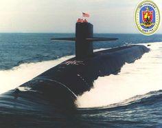 USS Louisiana, SSBN-743, Ballistic missile submarine, Ohio class. Commissioned Sep 6, 1997.