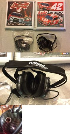 Scanners: Two 2 Rugged Race Products Headsets - W Microphones Bonus Nascar Seat Cushions -> BUY IT NOW ONLY: $99.99 on eBay!