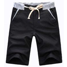 summer beach short men 1988-K25-25 new men repairing straight jeans linen  shorts men's casual shorts breathable short 8