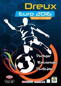 Euro 2016  Tous supporters à Dreux ! Du 10 juin au 10 juillet Consultez le programme complet des animations proposées sur notre site : http://www.dreux.com/agenda/euro-2016 #dreux #foot #euro2016 #football #sortiradreux #sport #visitdreux #fiersdesbleus #vivelesbleus