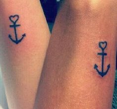 Me and my best friend, Matching tattoos