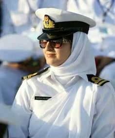 Pakistani Navy Woman Naval Officer