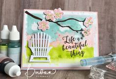 Beautiful Life... | Rambling Rose Studio | Billie Moan, Colorful Seasons, Stamping up