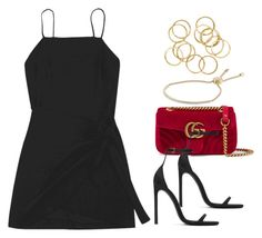 """""""#14720"""" by vany-alvarado ❤ liked on Polyvore featuring Gucci, Yves Saint Laurent and Michael Kors"""