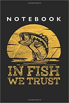 Amazon.com: In Fish We Trust Notebook: Lined College Ruled Notebook (9x6 inches, 120 pages): For School, Notes, Drawing, and Journaling (9798633742602): Notebooks, Cooldruck: Books Notebooks, Journals, School Notes, Journal Notebook, Trust, College, Fish, Drawing, Amazon