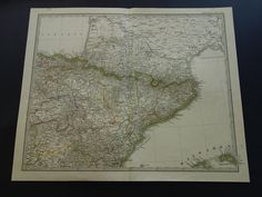 Large detailed map of Aragon with cities and towns Maps