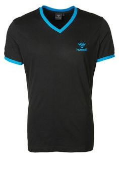 Hummel CLASSIC BEE - T-Shirt basic - black - Zalando.de #HU342B01U-802 #Hummel #null #schwarz #logo #hummel #straight #gerade #v-neck #v-ausschnitt #schwarz #black #shirt #fußball #handball - Handball spielen - Handball spielen