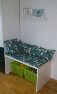 Sitthörn i barnrum DIY