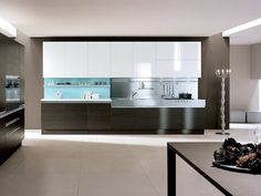 Nice Awesome Minimalist Contemporary Kitchen Design