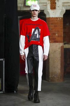 Agi Sam Fashion Show Menswear Collection Fall Winter 2017 in London