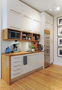 beautiful small kitchen simple #decoracioncocinaspequeñas