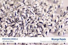 Miçanga Rajada da marca Preciosa Ornela. Compre on-line: http://www.beadshop.com.br/micangas-preciosa-ornela/rajada/d4023?utm_source=pinterest&utm_medium=pint&partner=pin13