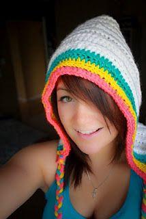 bobwilson123 - Youtube Tutorials: Crochet Hoodeanie- Hood cross with a beanie - Written Pattern and Video Tutorial