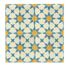 cement tile from mosaic house. love the pattern