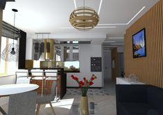Kuchnia w mieszkaniu w Szczecinie, Żelechowa, 2018 – REMA DESIGN Salons, Conference Room, Table, Furniture, Design, Home Decor, Lounges, Decoration Home, Room Decor