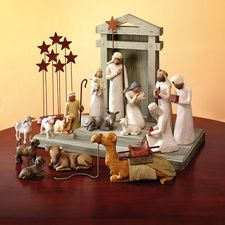 Willow Tree nativity - BIG WANT!!  the first piece I want is the camel though I love him so much and I'm afraid they won't keep making him!
