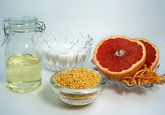Rumkihn Crafts: Marvelous Grapefruit Sugar Scrub